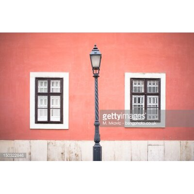 GettyImagesGallery Bright Pink Wall by M. Ivkovic Photographic Print