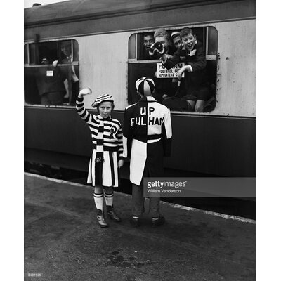 GettyImagesGallery Fan's Fashion by William Vanderson Photographic Print