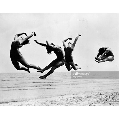 GettyImagesGallery Beach Exercise by Reg Speller Photographic Print