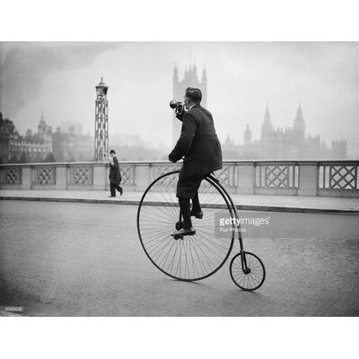 GettyImagesGallery Penny Farthing Bugle by Fox Photos Photographic Print