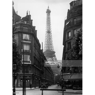 GettyImagesGallery Eiffel Tower by Hulton Archive Photographic Print