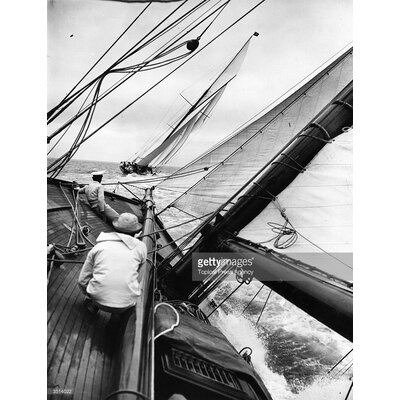 GettyImagesGallery Cowes Regatta by Topical Press Agency Photographic Print