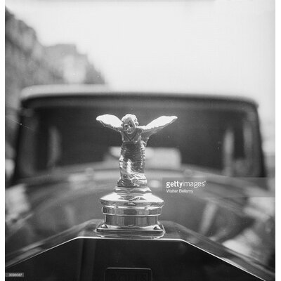 GettyImagesGallery Rolls Royce Mascot by Walter Bellamy Photographic Print