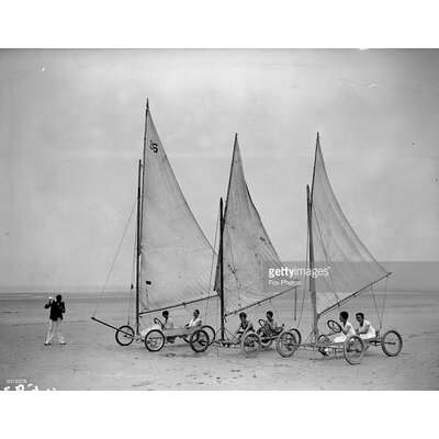 GettyImagesGallery Sand Yachts by Fox Photos Photographic Print