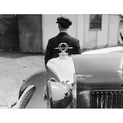 GettyImagesGallery Bentley Mascot by Fred Morley Photographic Print