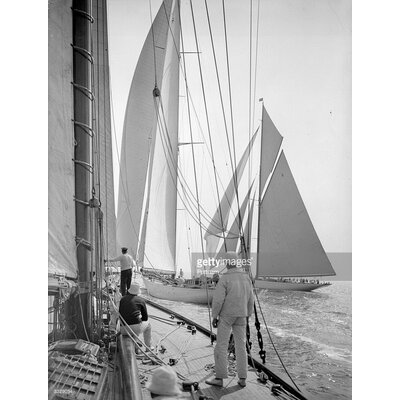 GettyImagesGallery Yachts Sailing by Puttnam Photographic Print