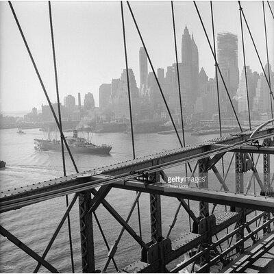 GettyImagesGallery Manhattan Skyline by Three Lions Photographic Print
