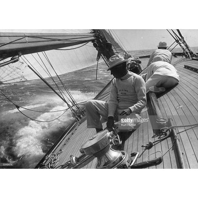 GettyImagesGallery Starboard Tack by Kurt Hutton Photographic Print