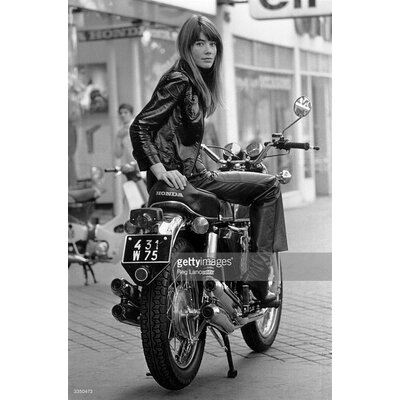 GettyImagesGallery Francoise Hardy by Reg Lancaster Photographic Print