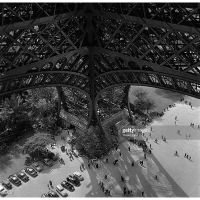 GettyImagesGallery Eiffel Tower Leg by Three Lions Photographic Print