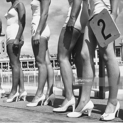 GettyImagesGallery Blackpool Beauties by Alex Dellow Photographic Print