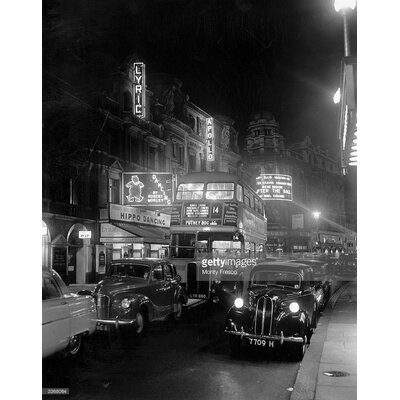 GettyImagesGallery Street Night by Monty Fresco Photographic Print