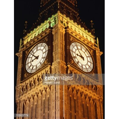 GettyImagesGallery Big Ben in London by Harald Sund Photographic Print