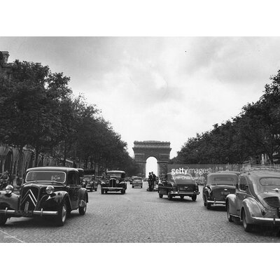 GettyImagesGallery Champs Elysees by John Chillingworth Photographic Print