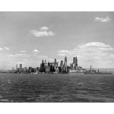 GettyImagesGallery New York City Skyline by Lawrence Thornton Photographic Print