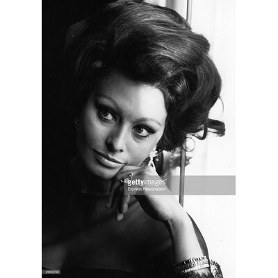 GettyImagesGallery Sophia Loren by Express Newspapers Photographic Print