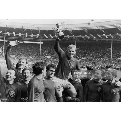 GettyImagesGallery World Cup Victory by Central Press Photographic Print