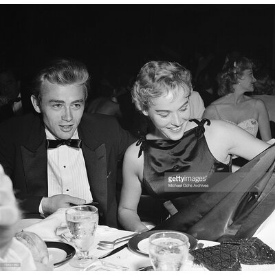 GettyImagesGallery James Dean and Ursula Andress by James Dean, Ursula Andress Photographic Print