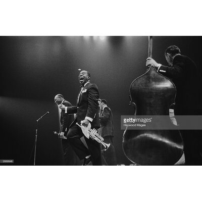 GettyImagesGallery Louis Armstrong on Stage by Haywood Magee Photographic Print
