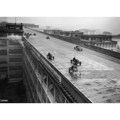 GettyImagesGallery Rooftop Racing by Fox Photos Photographic Print