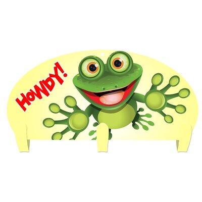 Jorden Frog Howdy 3 Hook Coat Rack