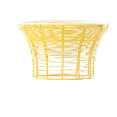 Aram Low Stool Finish: Yellow