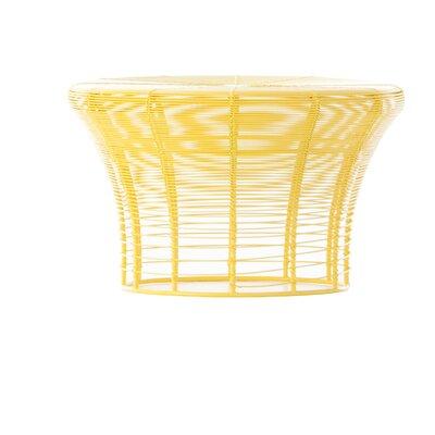Aram Low Stool Finish: Yellow