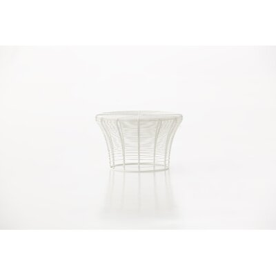 Aram Low Stool Finish: White