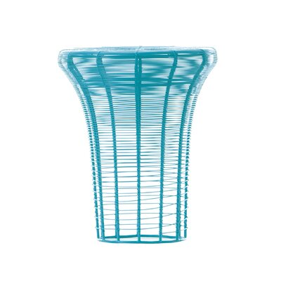 Aram High Accent Stool Color: Turquoise