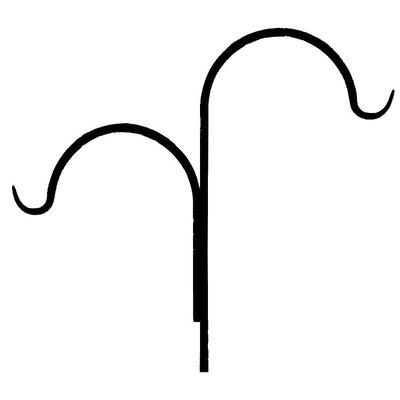 Double Shepherd's Hook (Set of 2)