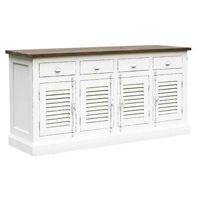 MiaCasa - Dress up your Home Brac Chic 4 Door 4 Drawer Sideboard