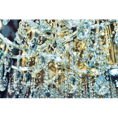Fluorescent Palace Diamond Dust Photographic Print on Canvas