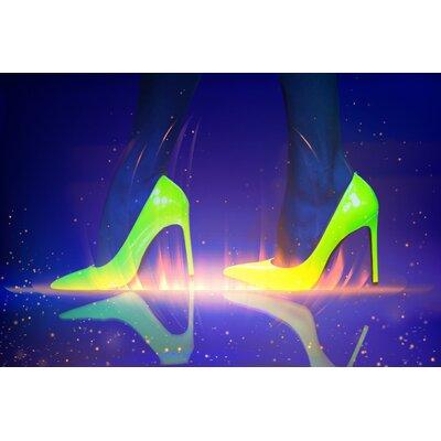Fluorescent Palace Prisma Graphic Art on Canvas