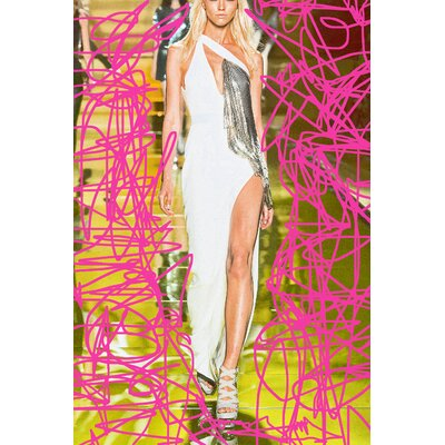Fluorescent Palace Runaway Graphic Art on Canvas