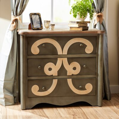 Stampley 3 Drawer Chest
