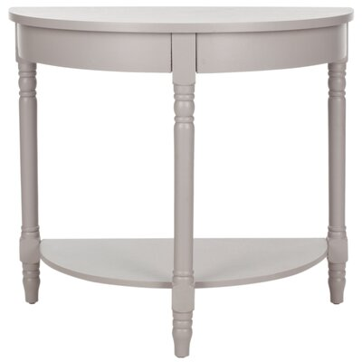 Camara Console Table Color: Quartz Gray