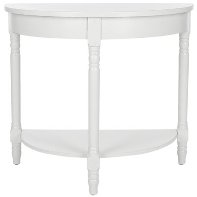 Camara Console Table Color: Shady White