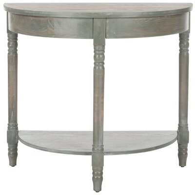 Camara Console Table Color: French Grey