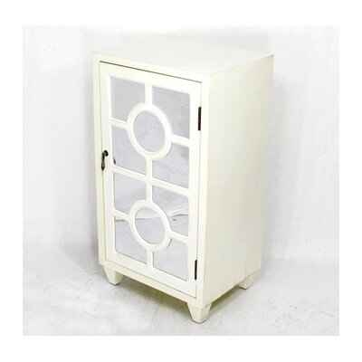 Garance Wooden 1 Door Accent Cabinet