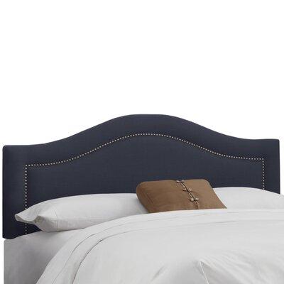 Ophiuchi Upholstered Panel Headboard Size: Full, Upholstery: Navy