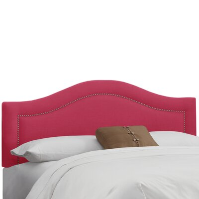 Ophiuchi Upholstered Panel Headboard Size: Full, Upholstery: Fuchsia