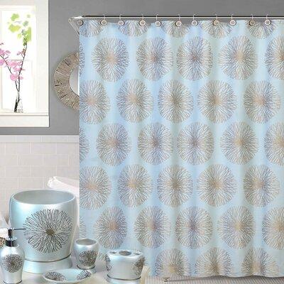 Shower Curtain Color: Aqua