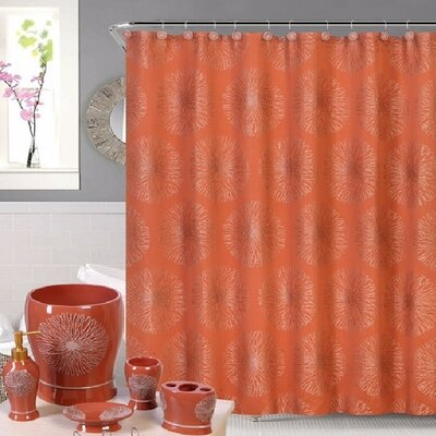 Shower Curtain Color: Rust