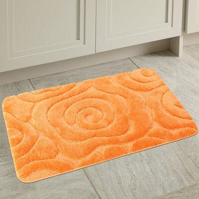 Prestige Spa Bath Rug Color: Orange