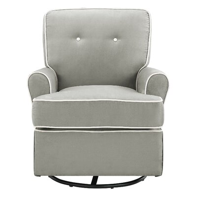 Tinsley Swivel Glider Color: Gray
