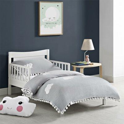 Trek Toddler Platform Bed Color: White
