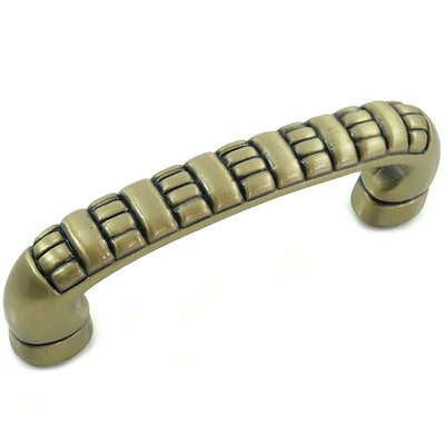 Ribbed Arch Pull Finish: Antique Brass