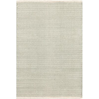 Dash & Albert Europe Herringbone Woven Ocean Rug