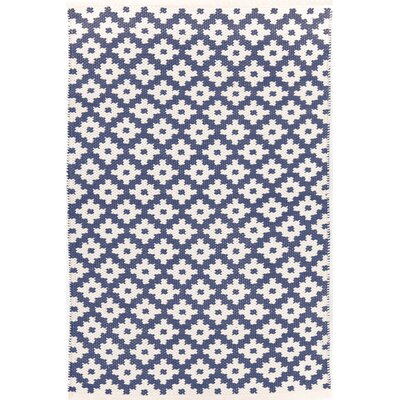 Dash & Albert Europe Samode Denim/Ivory Indoor/Outdoor Area Rug