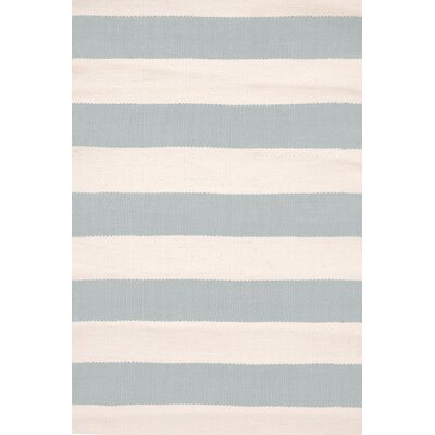 Dash & Albert Europe Catamaran Light Blue Indoor/Outdoor Area Rug